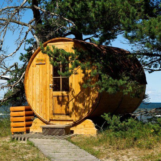 costruzione e realizzazione Sauna - wellness - Delta Piscine