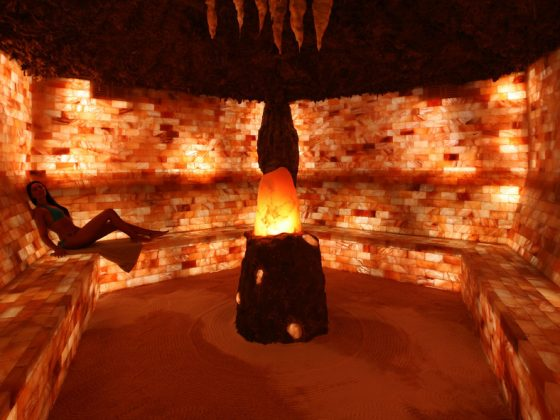 Grotta di Sale Modella